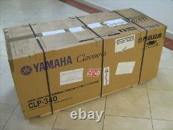 PIANO YAMAHA DIGITAL CLAVINOVA CLP 340 PE CLP340 musical instruments KEYBOARD +