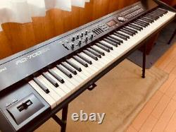 Roland RD-700GX stage keyboard piano with damper pedal Black Music from Japan