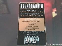 SOUNDGARDEN LIVE FROM THE ARTIST'S DEN (2019). 4 x VINYL. LTD. EDITION BOX SET