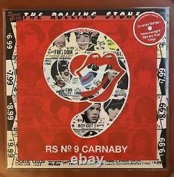 THE ROLLING STONES Some Girls Carnaby Street No. 9 Exclusive RED Vinyl LP NEW