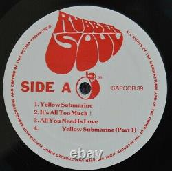 The Beatles MELLOW YELLOW 2LP SAPCOR Rec-Not TMOQ-Used- CoverVG+ VinylEX/NM-