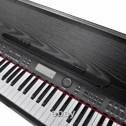 USA Classic Electronic Digital Piano with 88 Keys & Music Stand Keyboard