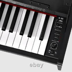 US 88 weighted Keys Digital Music Piano Keyboard Electronic Instrument NO Bench