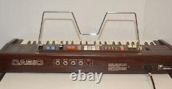 Vintage CASIO Casiotone 403 Electronic Musical Instrument Piano Keyboard Working