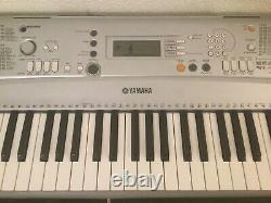 Working Yamaha YPT300 Keyboard Piano Musical Instrument With Stand & Music Holder