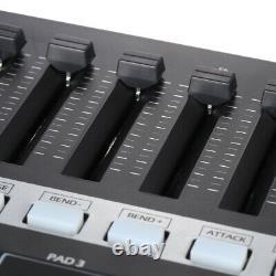 Worlde Electronic Keyboard MIDI Controller Drum Pads Beat Music Maker Piano USB
