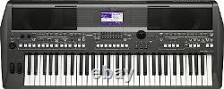 YAMAHA Electronic Keyboard Piano PORTATONE PSR-S670 music stand included