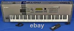 Yamaha Motif 8 Music Production Synthesizer Synth Keyboard Piano with Pedal 88 Key