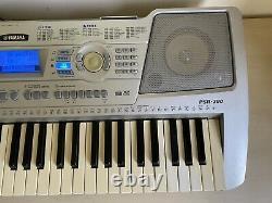Yamaha PSR-290 Keyboard Piano Synthesizer with Music Holder & Pedal & Manual