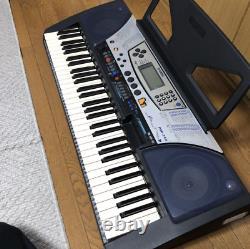 Yamaha PSR-340 Music Work Station Keyboard Piano Synthesizer From Japan Used