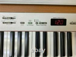 Yamaha P-120 Electronic Piano Keyboard with Pedal, Music Stand, Stool, Dust Cover