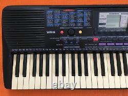Yamaha Portatone Music Keyboard Synthesizer Musical Digital Piano Stand Prs-220