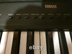 Yamaha ypp-35 digital music keyboard piano 1 Harpsichord pipe organ power lead