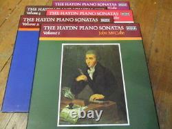 1/2/3/4/5 Sonates Complètes Pour Piano Hdn Haydn / John Mccabe 15 Lp 5 Coffrets