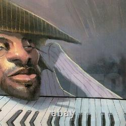 26wx8h Jazzscape By Justin Bua Piano Man Keyboard Jazz Festival Music Canvas