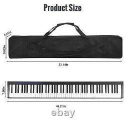 61/88 Key Electronic Keyboard Music Piano Numérique Électrique Avec Maintien De Pédale