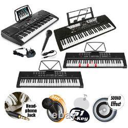 61 Key Digital Clavier Piano Set Avec Chaise De Musique Et Support De Clavier