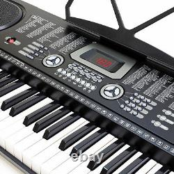 61 Key Digital Piano Music Keyboard Électronic Keyboard Stand Tabouret Casque