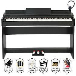 88 Clavier Clavier De Musique Clé Avec Adaptateur De Support 3 Pedal Board Electric Digital LCD