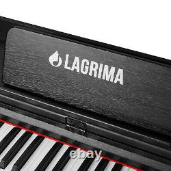 88 Clavier De Musique Clé Avec Stand+adaptateur+3-peda Electric Digital LCD Piano Board