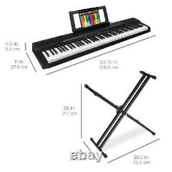 88-key Piano Set Digital Full Size Stand Pedal Keyboard Musique Orgue Clavecin