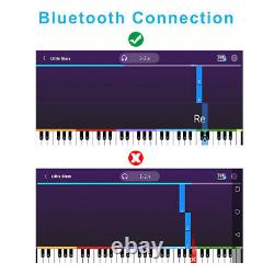 88key Bluetooth Electronic Piano Keyboard Digital Music Instrument Avec Bag Gift