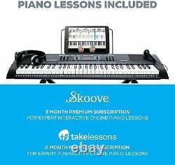 Alesis Melody 61 Mkii 61 Key Music Clavier / Piano Numérique Intégré Haut-parleur