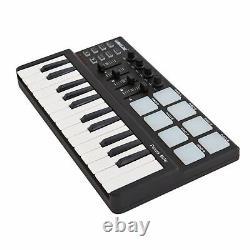 Beat & Music Maker Dj Piano Usb MIDI Drum Pad & Keyboard Controller 25 Clés Nouveau