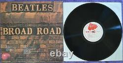 Beatles Broad Road (abbaye) 1lp Sapcor Rec-non Tmoq-used- Covervg+ Vinyle Ex/nm-