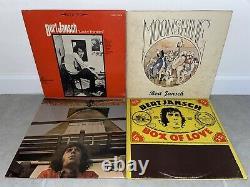 Bert Jansch 14 Vinyl Lp Lot 1er Presse Us Uk Italie Importer Pentangle Ex+ Rare