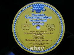 Bienvenue Du 32 Piano Sonatas Wilhelm Kempf 11 Lp Tulipe Allemand Rim Nm