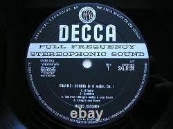 Brahms Complete Solo Piano Musique Julius Katchen 8 Lp Wbg Nm