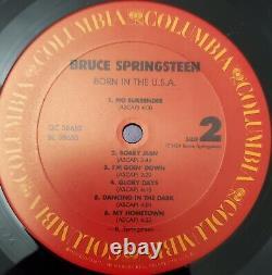 Bruce Springsteen Né Aux États-unis 1984 Cbs Numéroté Copie Promotionnelle