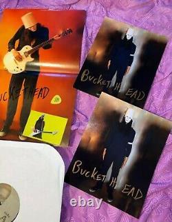 Buckethead Crime Slenk Scene Limited E Vinyl Lp 2017 Signé & # Le37 Rare Plus
