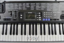 Casio Ctk-720 Électronique Usb MIDI Clavier Piano 61 Clés Musicales