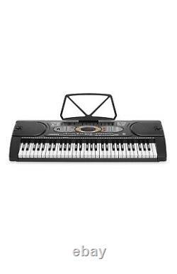 Clavier Électronique À 61 Clés Hamzer Piano De Musique Numérique Portable Avec Support H, Siège