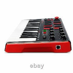 Clavier MIDI Controller 25 Key Usb Professional Piano Music Portable Instrument