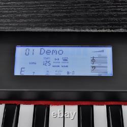 Clavier Musical De Piano Électrique Enregistrant L'instrument De Musique De Fonction Led De Mémoire
