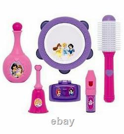 Disney Princess Piano Keyboard Musical Vanity Beauty Salon Interactive Girls Jouet