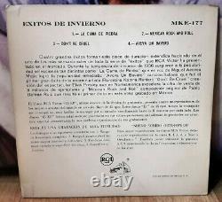 Elvis Mexique Seulement Ultra Rare Éxitos De Invierno 1956 Ps Ep Ex/ex! Rock'nroll