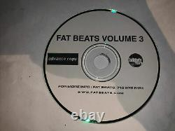 Fat Beats Volume 3 (super Rare) Uniquement Vendre En Ligne Le Traitement Mf Doom