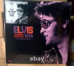 Grande Offre! 3-lp Set + 3-cd Set Elvis Summer Festival 1970 Les Réaéraux Ss