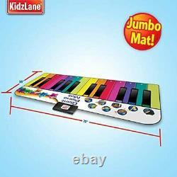 Kidzlane Sol Piano Mat Jumbo 6 Pieds Musical Clavier Playmat Pour Les Tout-petits Et