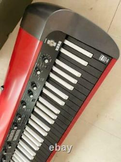Korg Sv-1 Inverser Le Clavier 73 Clés Rouge Noir Instrument Musical Piano Digital