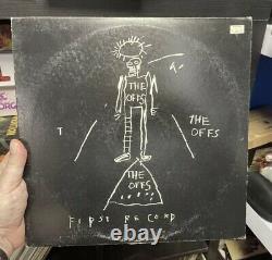 La Première Couverture Du Disque Par Jean-michel Basquiat Rare Première 1ère Presse Lp
