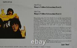 Les Beatles Mellow Yellow 2lp Sapcor Rec-non Tmoq-used- Covervg+ Vinylex/nm-