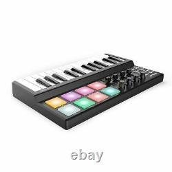 MIDI Controller Clavier Usb Drum Beat Machine Portable Studio Music Dj Piano
