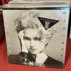 Madonna Scellée Self Titled Sire 1-23867 Original Us Lp Borderline Holiday 1983