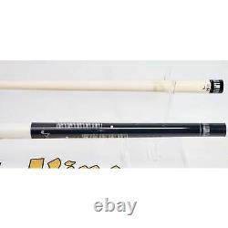 Meucci Pearl Piano Pro Billard Pool Cue Stick White Black Keyboard Music Notes