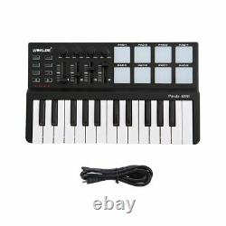 Mini Clavier Piano Musical Et Drum Pad 25 Touches Portable Music Instruments Tool